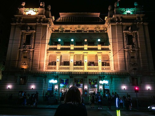 THe belgrade serbia opera theater