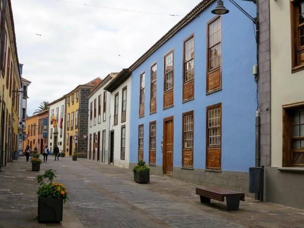 Calle San Agustin en La Laguna