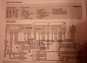 Peugeot 407sw foglamp | typical wiring diagram | Flickr