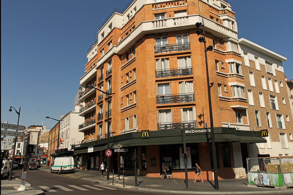 McDonald s Paris Porte de Lilas  France    One of the 7 McDo      Flickr     McDonald s Paris Porte de Lilas  France    by Meteorry