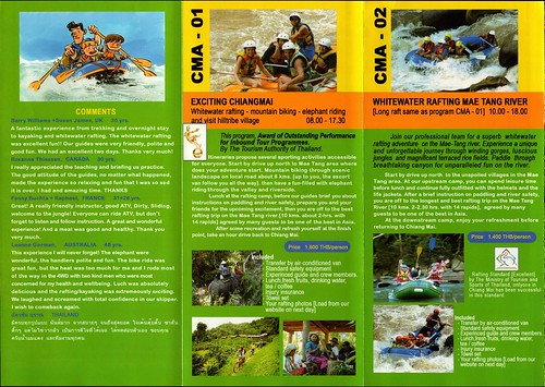 Brochure Chiang Mai Adventure Thailand 3