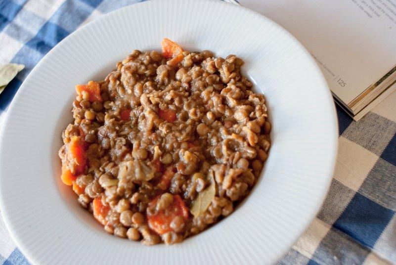 grecka zupa z soczewicy