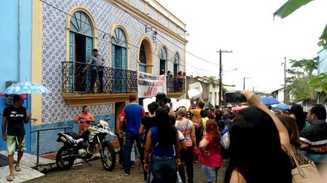 Sindicato de Óbidos rebate nota de esclarecimento do governo Chico Alfaia, protesto2