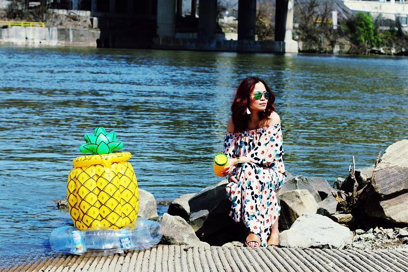 pineapple-float-river-side-2