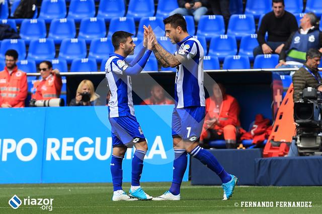 Liga Santander. RC Deportivo 2 - Málaga 0