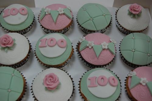 100th Birthday Cupcakes Beautiful Birthday Cakes
