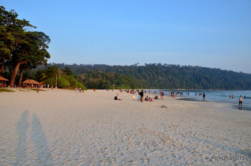 radhanagar beach, havelock