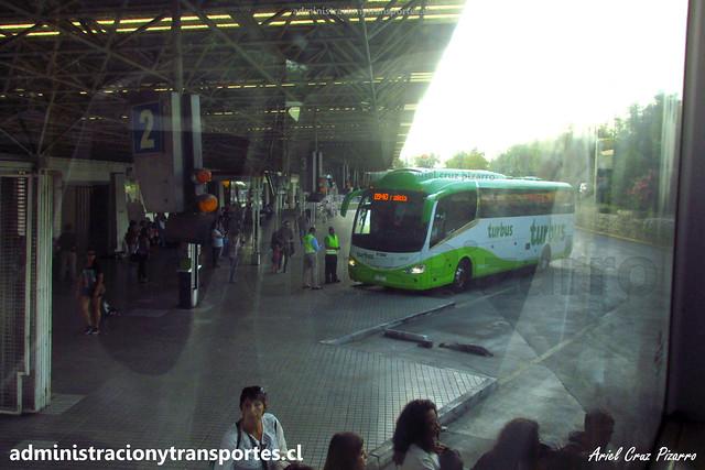 Tur Bus | Terminal Pajaritos | Irizar I6 - Mercedes Benz / GYRF17 - 4372