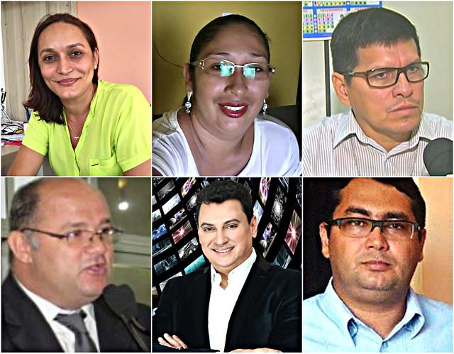 Holofotes em 6 VIPs. Martha, Herbert, Alysson, Ana, Bacana e Davirley