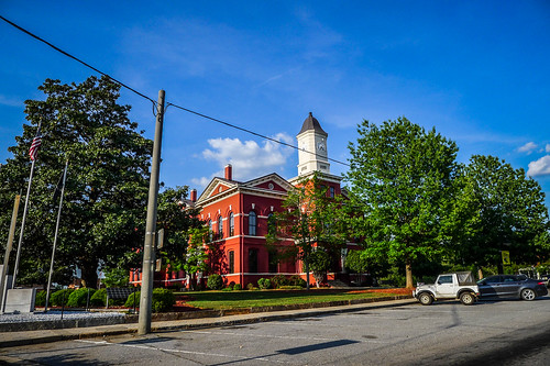 Pike County Courthouse Zebulon