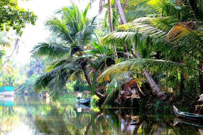 Kerala backwaters asuntolaiva
