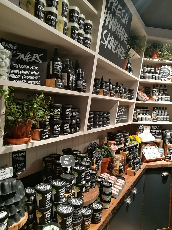 Lush Spa Cardiff Review and Products