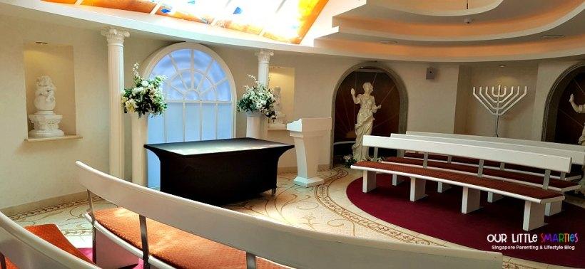 Skylight Chapel on Deck 15