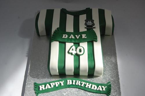 Plymouth Argyle Football Shirt Cake Beautiful Birthday Cakes