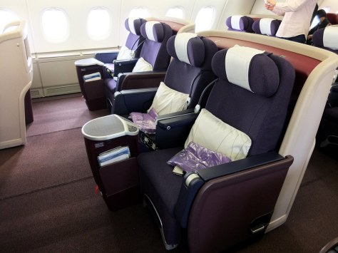 Image result for malaysia airlines a380 business class