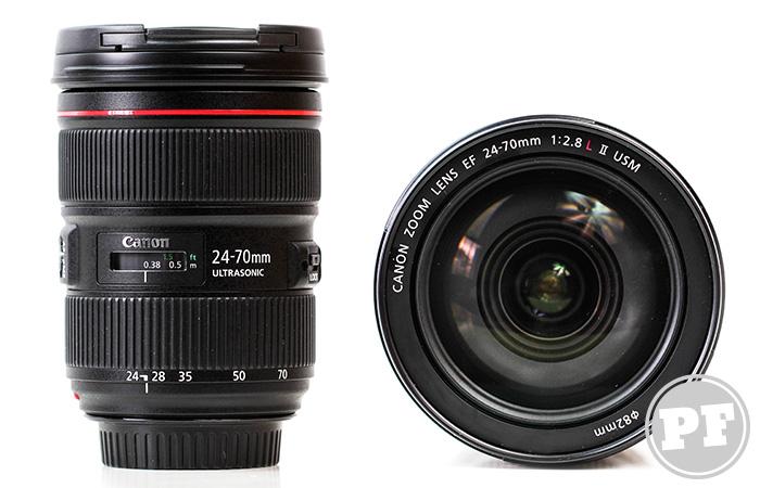 Equipamentos: Lente Canon EF 24-70mm f/2.8L II USM por PratoFundo.com