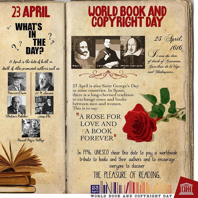 Dünya Kitap ve Telif Hakkı Günü