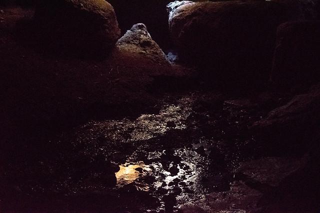 Pool inside Bear Gulch Cave