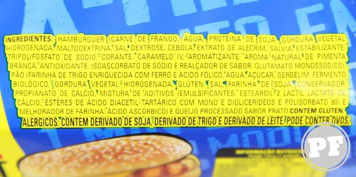 Hambúrguer Congelados X-Frango Sadia por PratoFundo.com