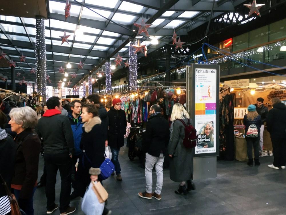 11 Dec 2016: Spitalfield Market | London, England