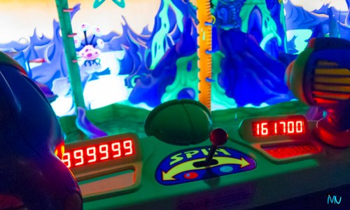 999999 on Buzz Lightyears Space Rangers Spin