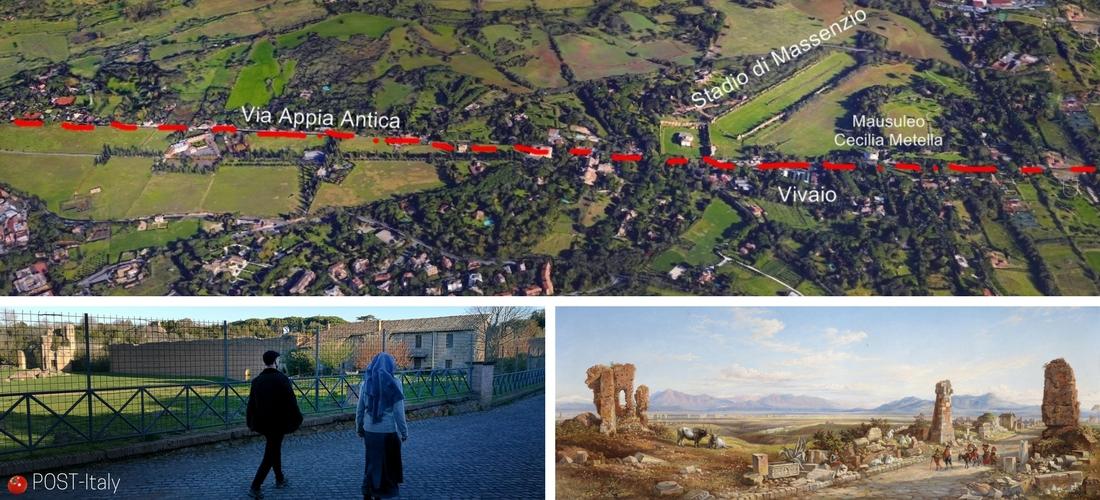 Ápia-Antiga-Roma