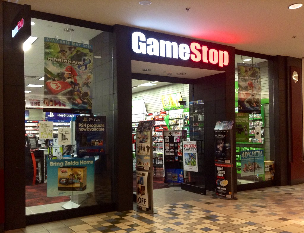 GameStop GameStop Store Mall Location Facade Logo Pics