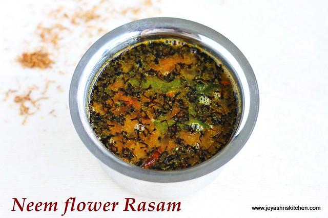 Neem flower- rasam