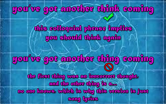 T #AtoZChallenge You've Got Another Think Coming #Fiction #SFF