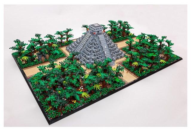 Land of The Maya MOC - 2