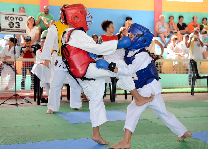 Campeonato Paulista de Karate em Itanhaém