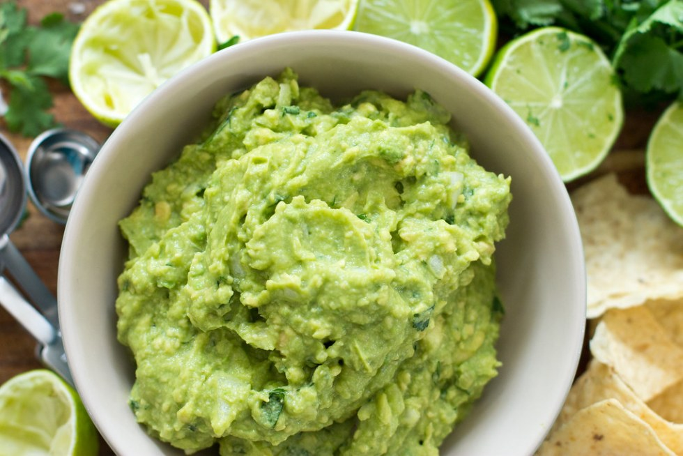 Perfect guacamole - simple, delicious, and homemade.