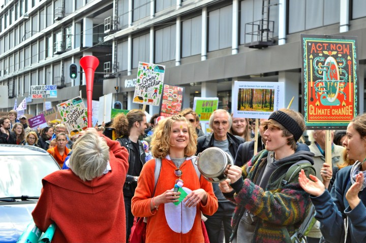 2017 Climate March in Amsterdam