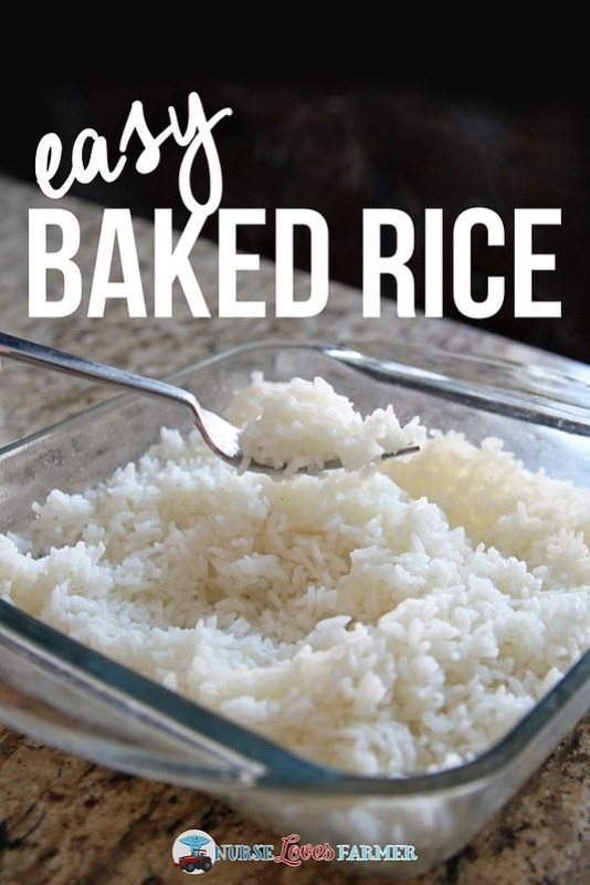 Easy Baked Rice. Main dish in the pressure cooker or crock pot? Don't have a rice cooker? Try this easy baked rice---comes out perfect every time!