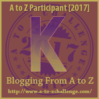K #AtoZChallenge Kudos #Fiction #SFF