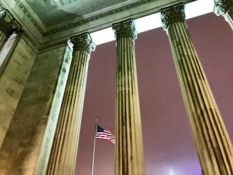 Rainy night, Logan Square