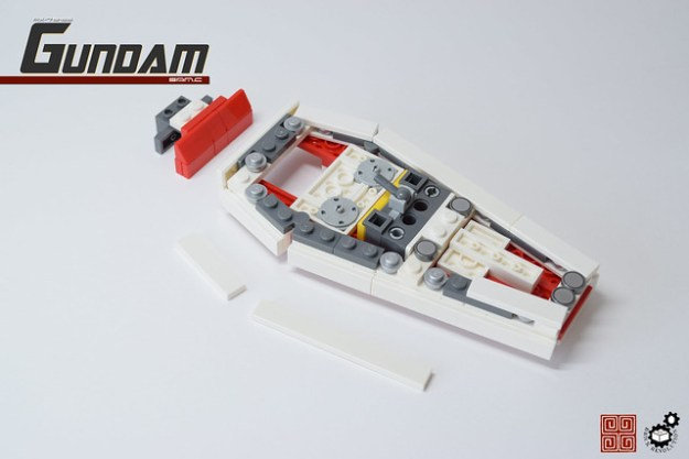 23. Gundam Shield Rear (Structure)