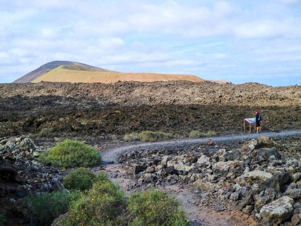 Caldereta y Caldera Blanca en Lanzarote