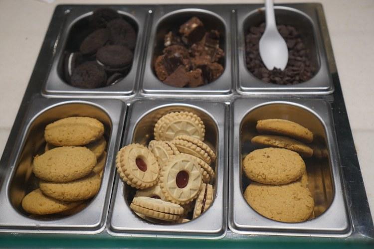 Toppings - Yorica gluten free ice cream parlour in London Soho