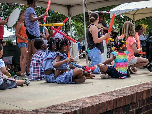 Drumming at the Greer International Festival-001