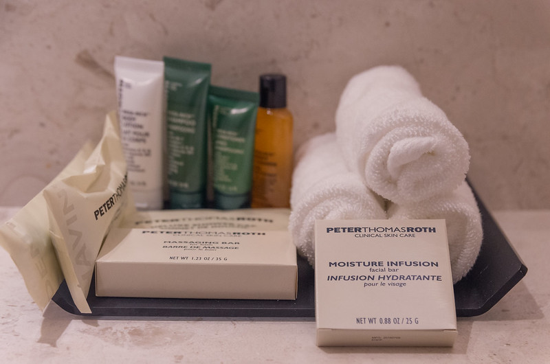 bathroom toiletries hilton kota kinabalu