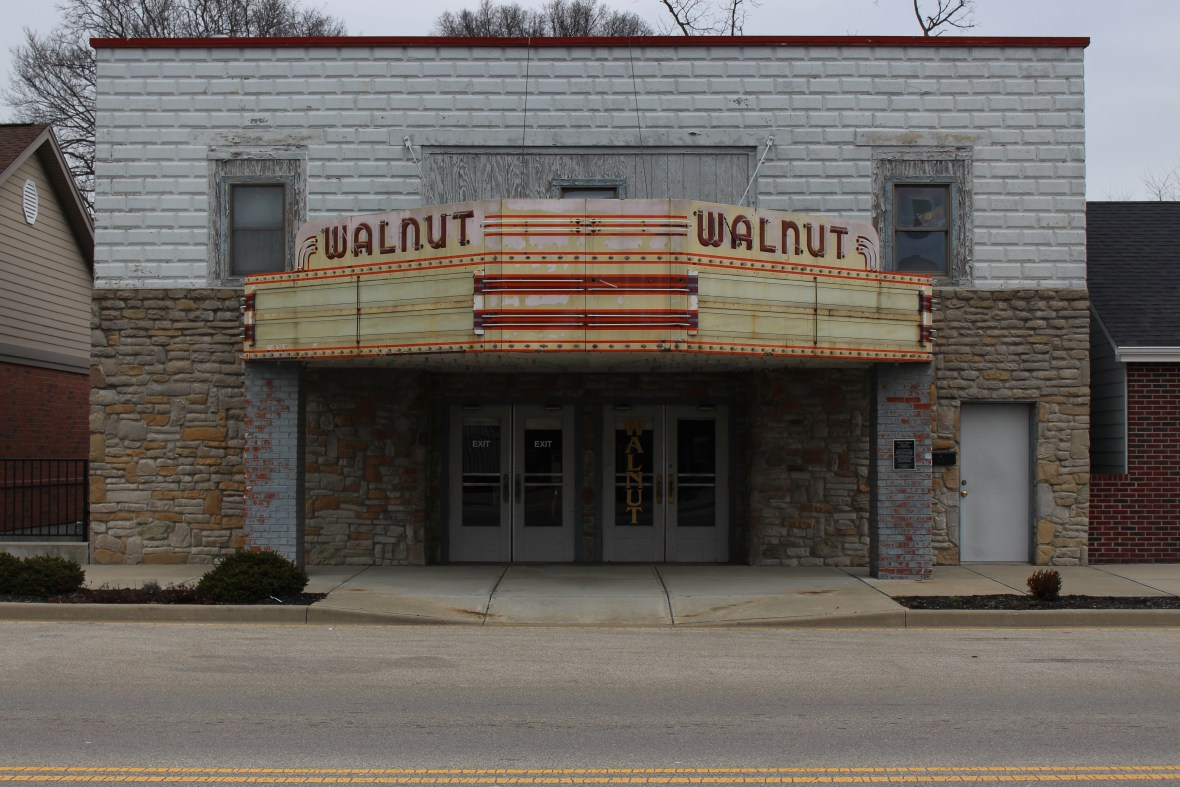 Walnut Theater - 352 Walnut Street, Lawrenceburg, Indiana U.S.A. - January 28, 2017