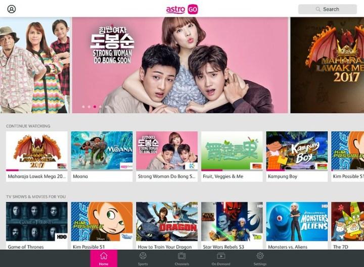 Screenshot - Astro GO iPad