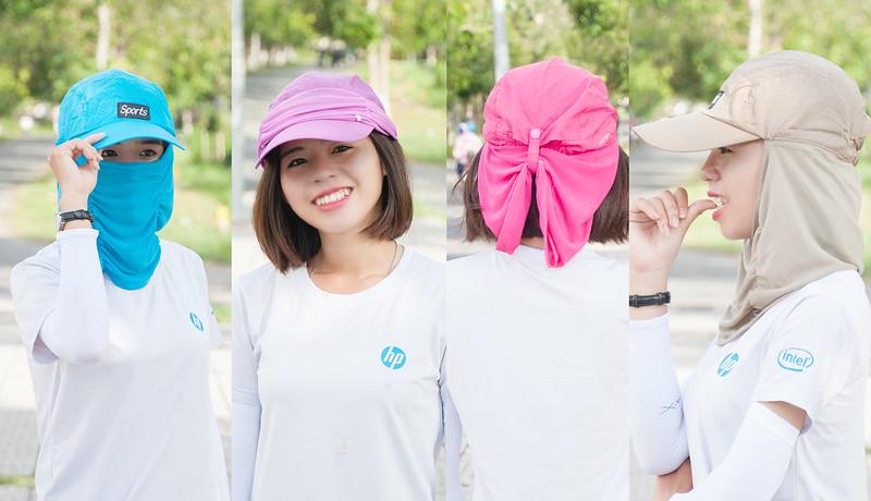 nón có khẩu trang chống nắng đa phong cách 4 phong cách Cần Thơ