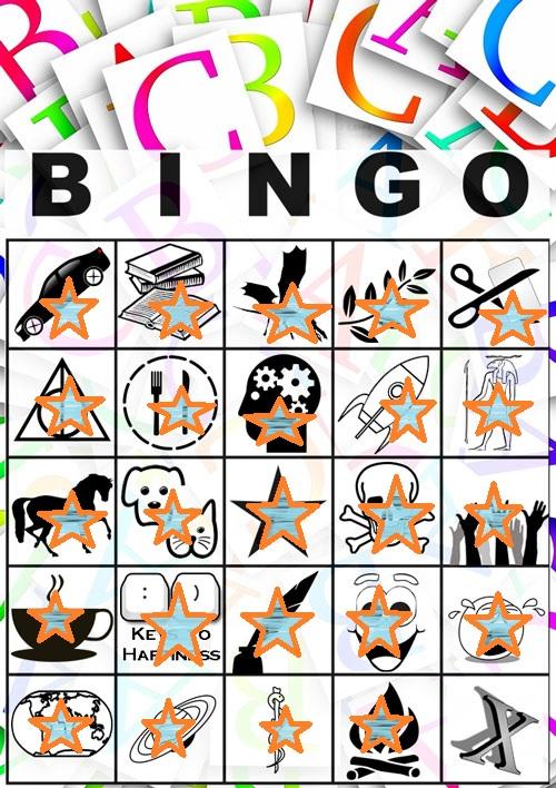 #AtoZBingo Week 1 #atozchallenge A to Z bingo By @JLenniDorner
