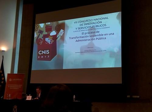 CNIS 2017 VII Congreso Nacional de Innovación y Servicios Públicos.