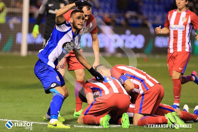 Liga Santander. RC Deportivo 1 - Atlético de Madrid 1