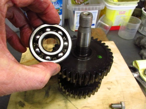 Output Shaft Rear Ball Bearing