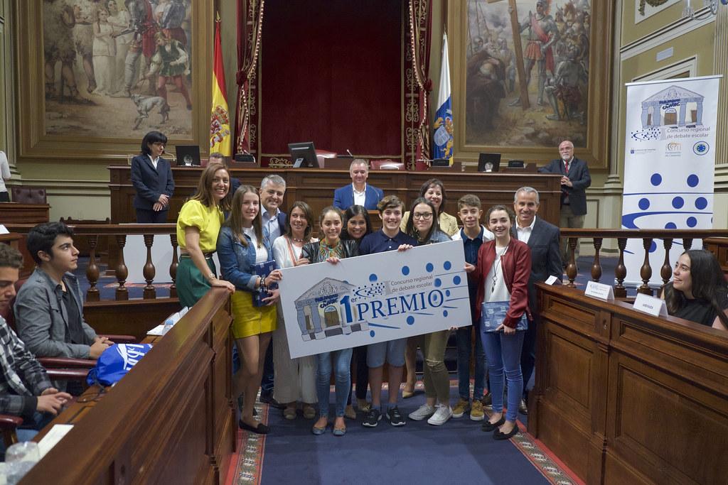 Final I Concurso Regional de Debate Escolar (28/04/2017)