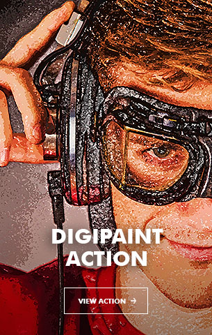 Mix Oil Painting Photoshop Action - 99